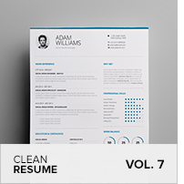 Clean Resume Vol. 5 - 18