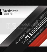 Modern Business Card Clean Style by Dydier44 photo ModernBusinessCard_zps5c7460e8.jpg