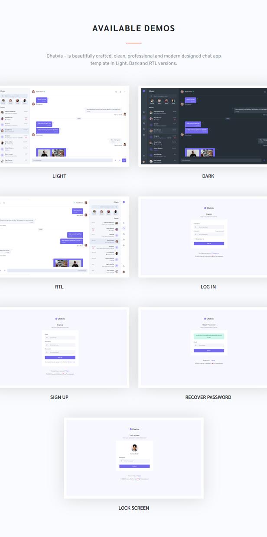 Chatvia - VueJs  Chat App Template - 3