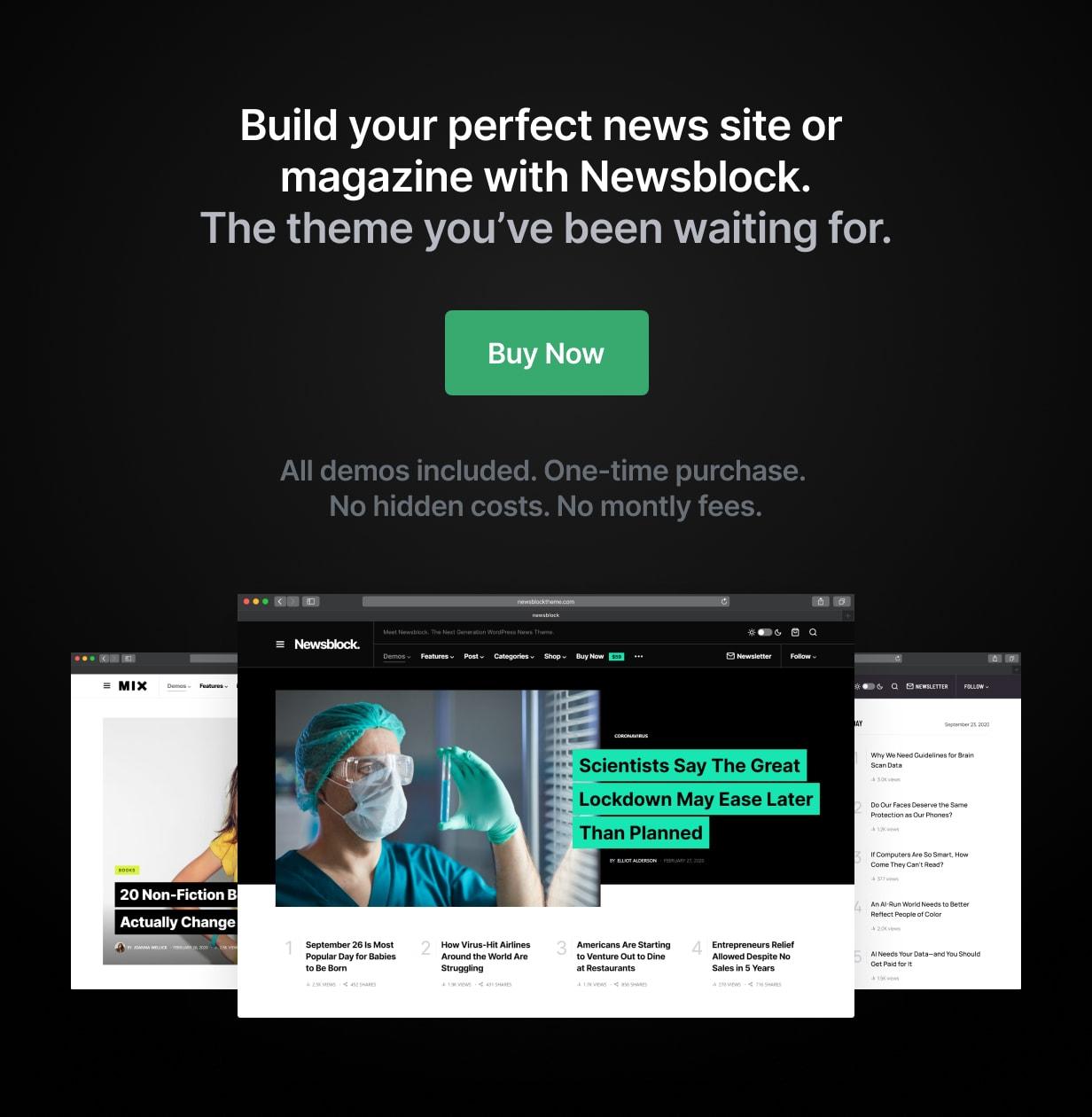 Newsblock - News & Magazine WordPress Theme with Dark Mode - 30