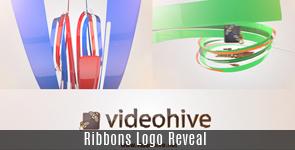 Ribbons Logo Reveal - 15