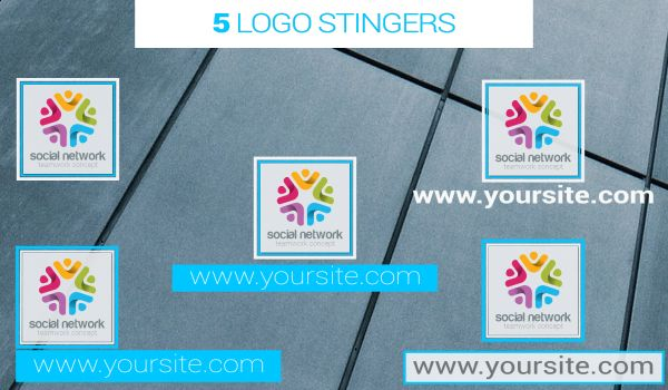 Corporate Lower Thirds & Elements Pack - 4
