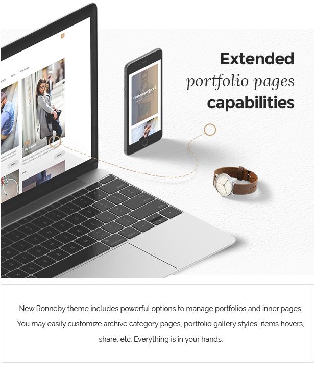 portfolio features