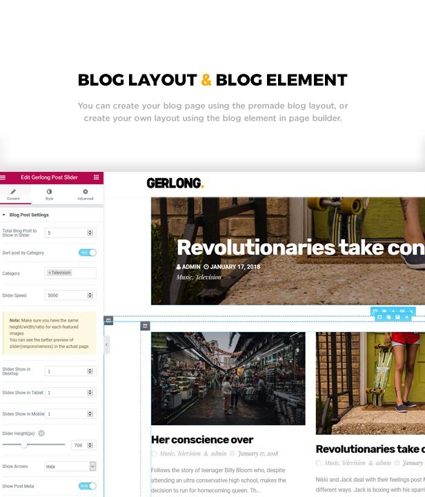 Gerlong - Responsive One & Multi Page Portfolio Theme - 2
