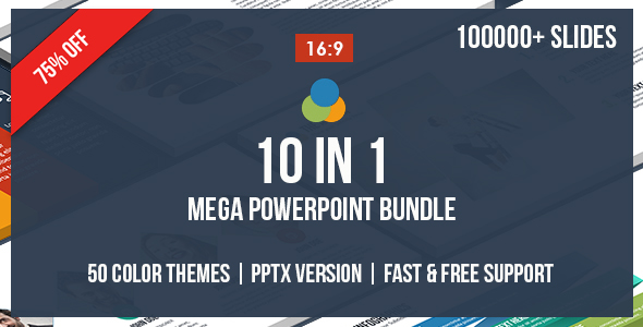 10 IN 1 - Mega Powerpoint Bundle - 1