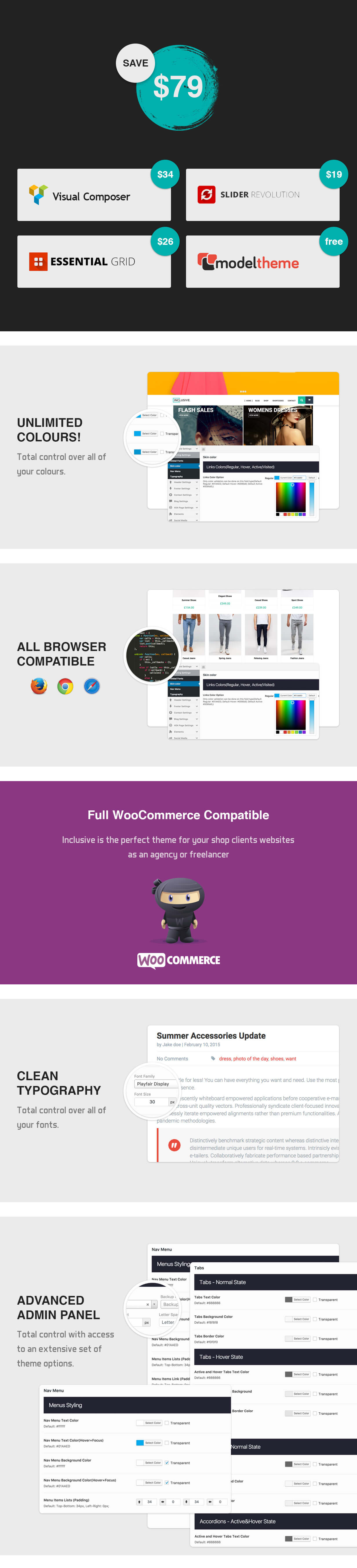 Inclusive - Multipurpose WooCommerce WordPress Theme - 6