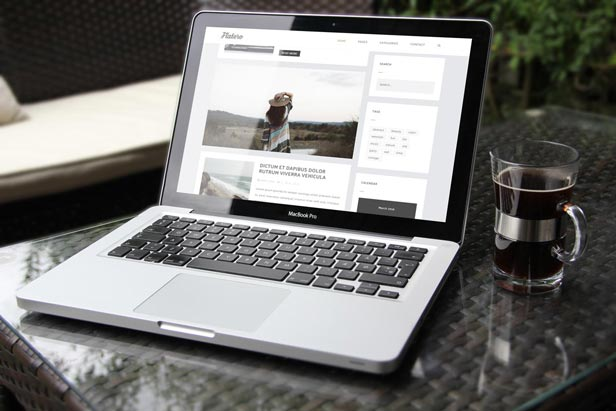 Flatero - Responsive WordPress Blog Theme - 1
