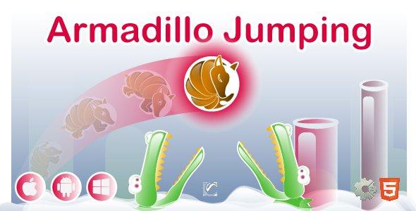 Armadillo Jumping