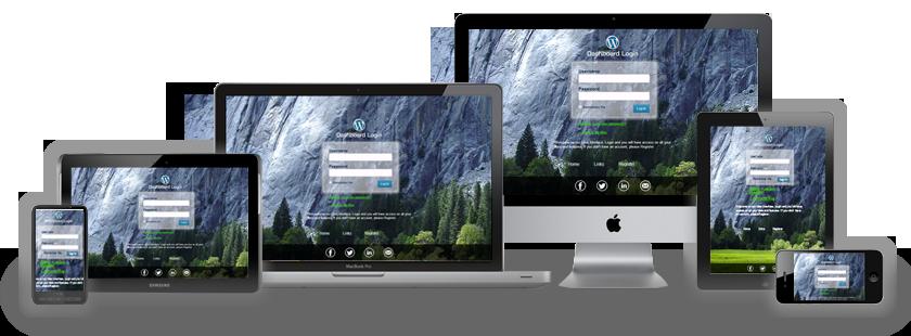 WordPress Custom Login Theme Page - 4