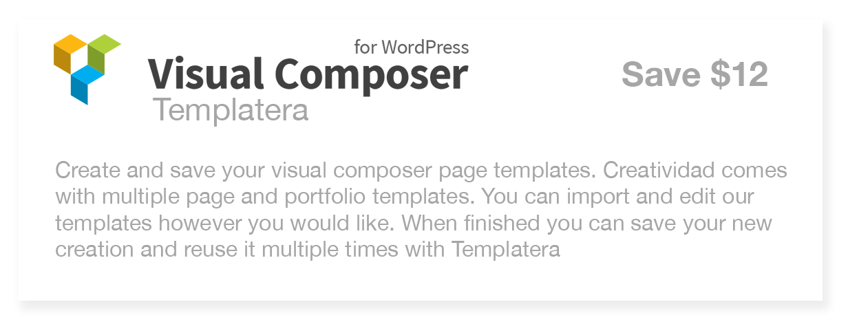 Visual Composer Templatera