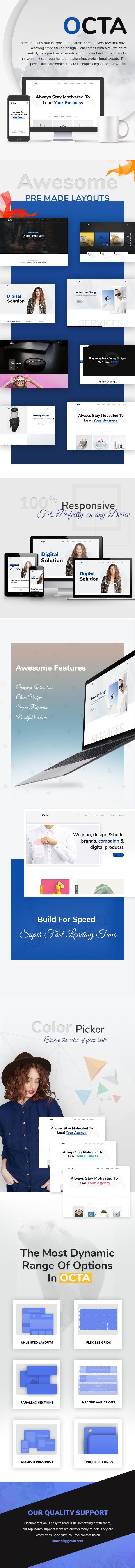 Octa | Multipurpose HTML Template