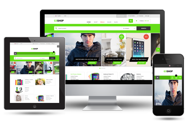 G3shop - Fully Responsive