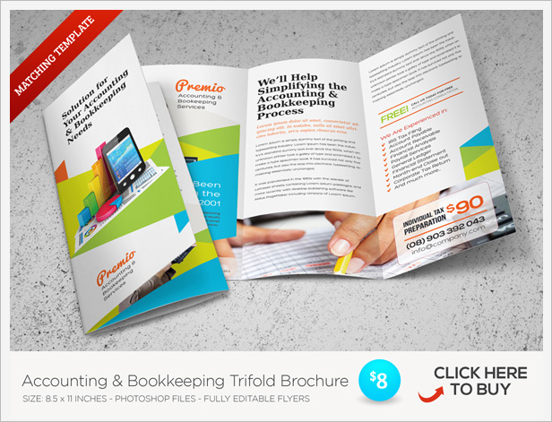 about the template flyer templates ideal for promoting your accounting and bookkeeping services