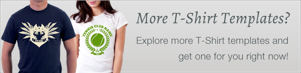 Get more T-shirts now ;)