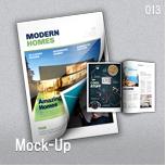 Mock-Up for Brochure / Catalog / Magazine - Photorealistic - A4 - 2