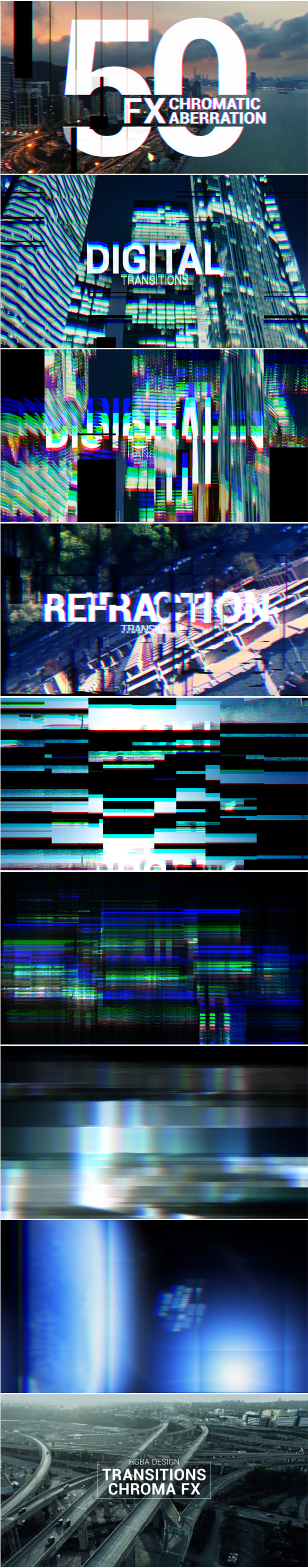Video Transitions Pack Template