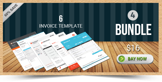 Active Invoice Templates - 4