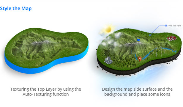 The U201c3D Map Generator U2013 GEOu201d Creates Professional 3D Maps Which Are Perfect  For Illustrations, Presentations, Game Design, As Terrain Descriptions, ...