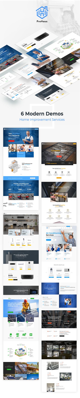 ProHauz – Handyman, Plumber, HVAC Services WordPress Theme - 3