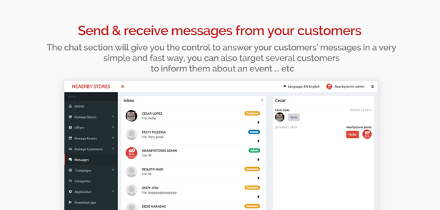 NearbyStores - Offers, Events & Chat Realtime + Firebase 1.8 - 11