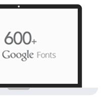600 Google Fonts