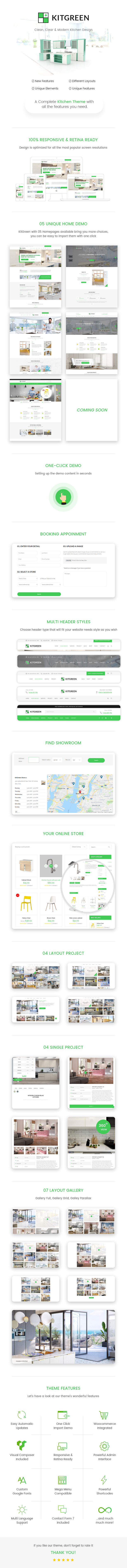 KitGreen - Modern Kitchen WordPress Theme
