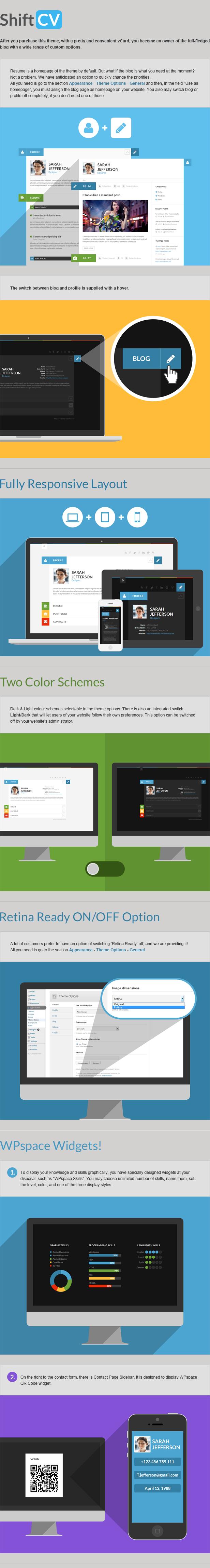 ShiftCV - Blog \ Resume \ Portfolio \ WordPress - 1