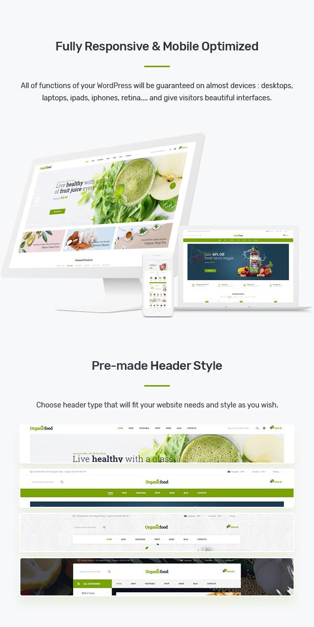 Konado - Organic Theme for WooCommerce WordPress 26
