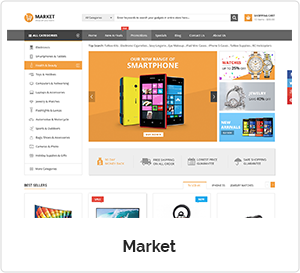 Market - Multipurpose WordPress Theme