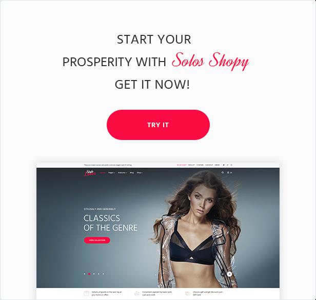SolosShopy - Fashion Shop Elementor WooCommerce Theme - 8
