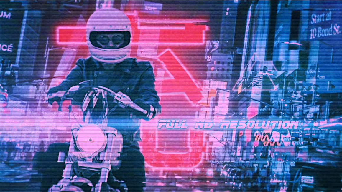 Cyber Urban Freeze Frame Opener - 9