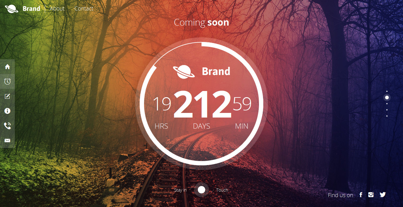 Bientot Beautiful Creative Coming Soon Template By Mivfx