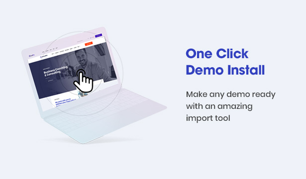 Consultek One-click Import Demo - Consulting Business WordPress Theme