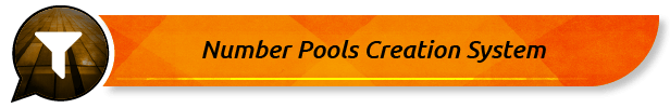 Number Pools Creation System