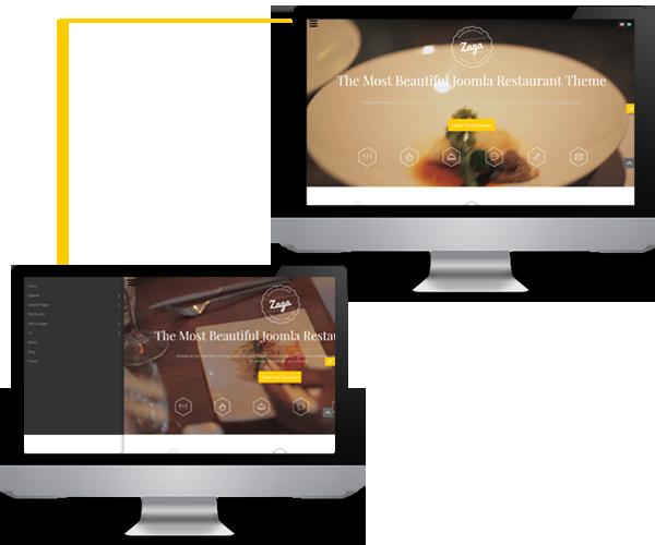 Zaga - Convenient Slidebar Menu