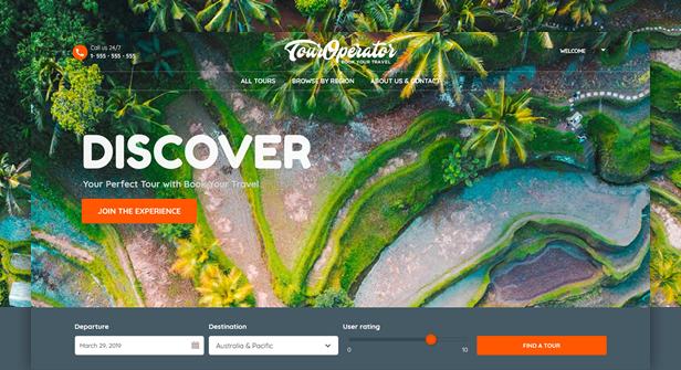 Book Your Travel - Online Booking WordPress Theme - 7