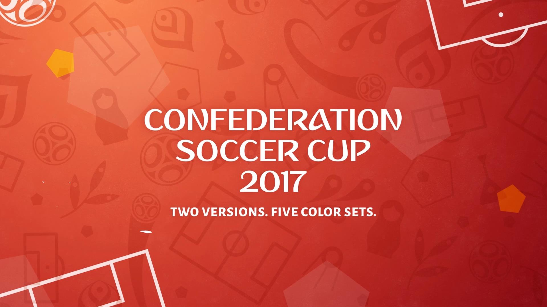 Confederation World Cup Football (Soccer) Cup Opener