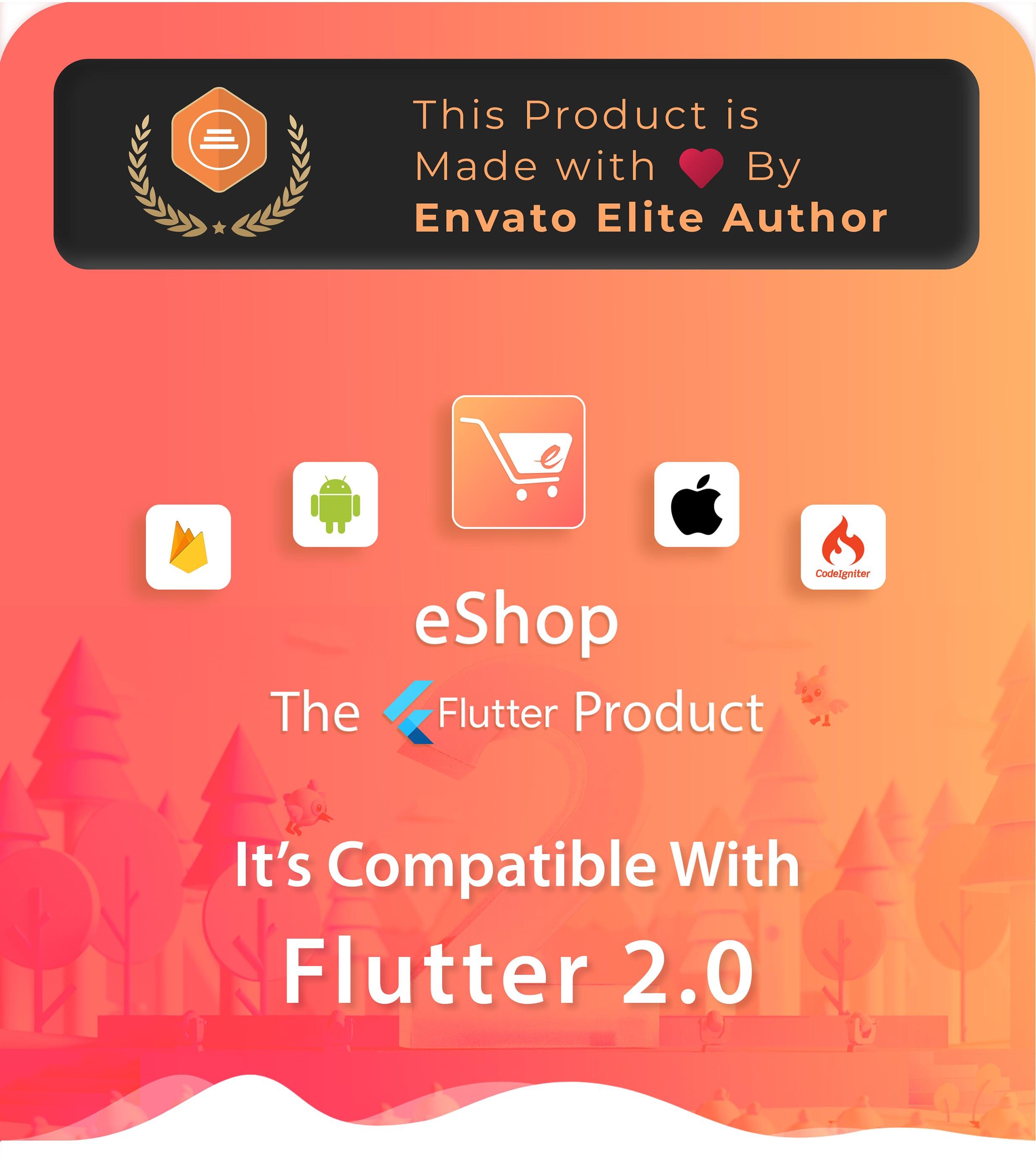 eShop - Flutter E-commerce Full App - 1