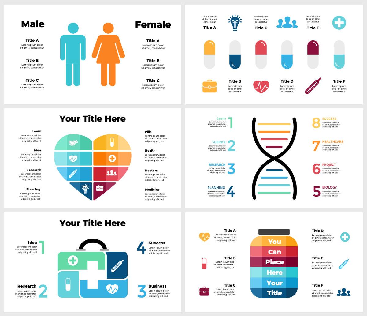 Huge Infographics Bundle! Lifetime Updates! PowerPoint, Photoshop, Illustrator. - 207