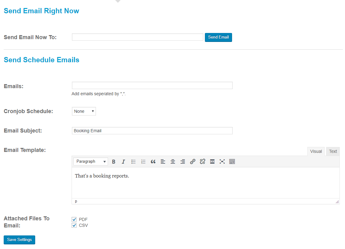 WooCommerce Bookings Exporter | Download CSV, PDF or Email Reports - 9