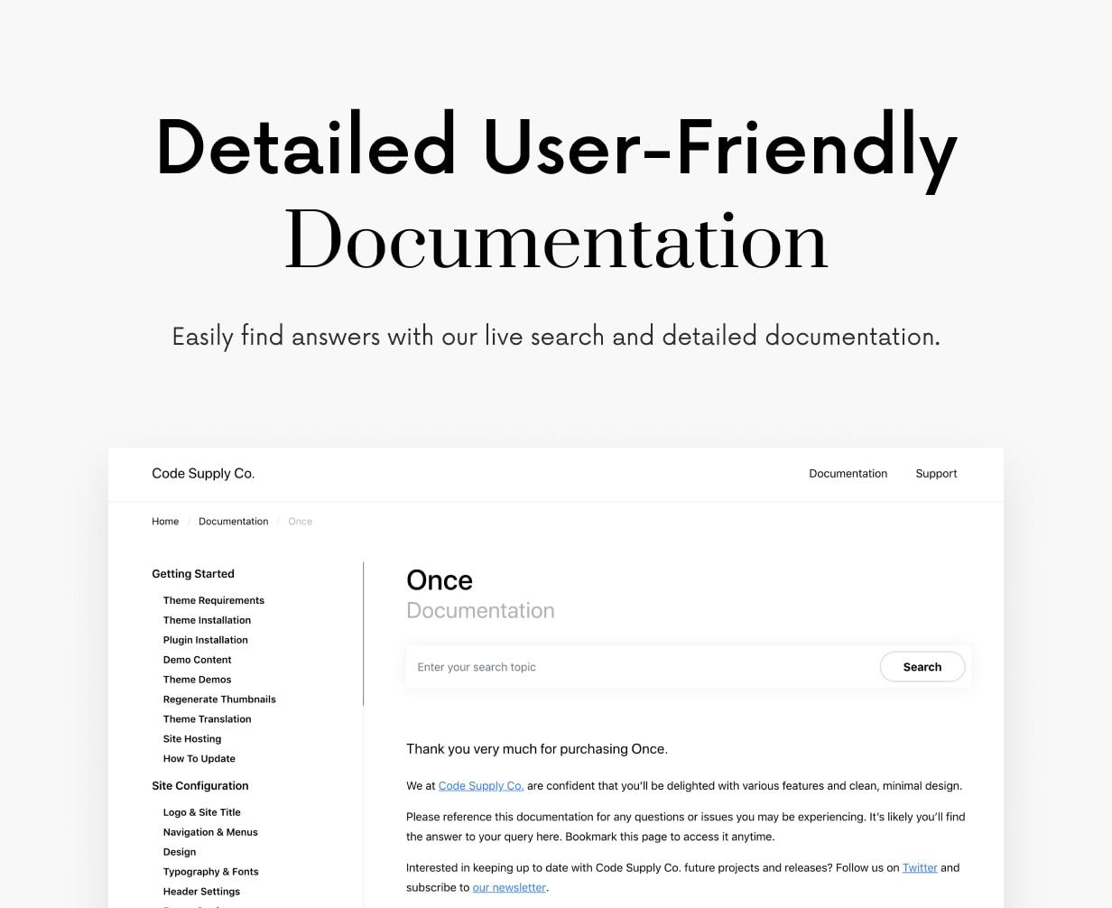 Once - Clean & Elegant WordPress Blog Theme - 67