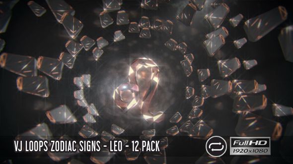 VJ Loops Zodiac Signs - Aries - 12 Pack - 1