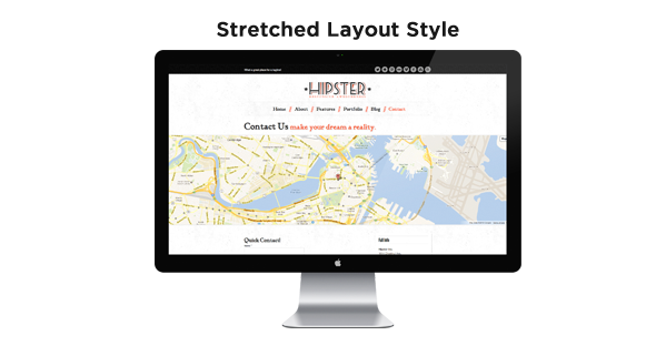 Hipster: Retro Responsive HTML5 Template - 5