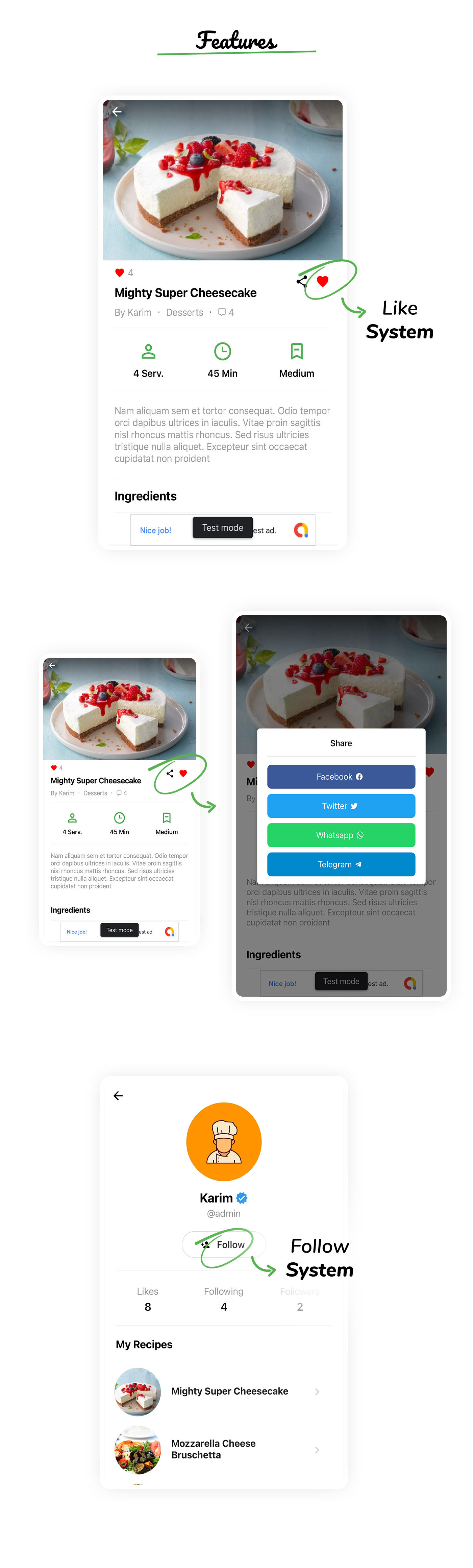 RealFood Mobile   React Native Recipes & Community Food - 4