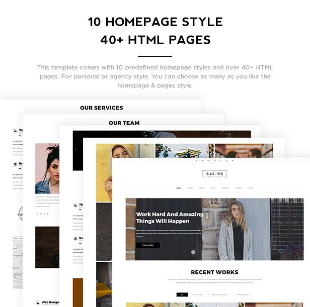 Baewe - Responsive One Page & Multi Page Portfolio Template - 3