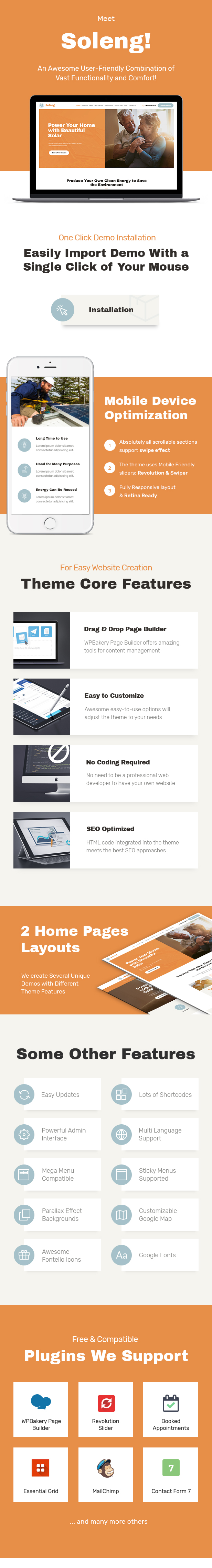 Soleng | A Solar Energy Company WordPress Theme - 1