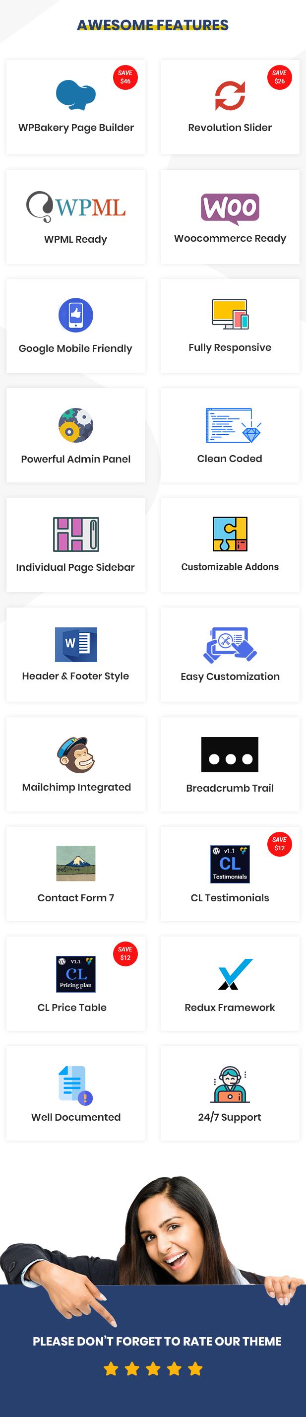 Finoptis - Multipurpose Business WordPress Theme