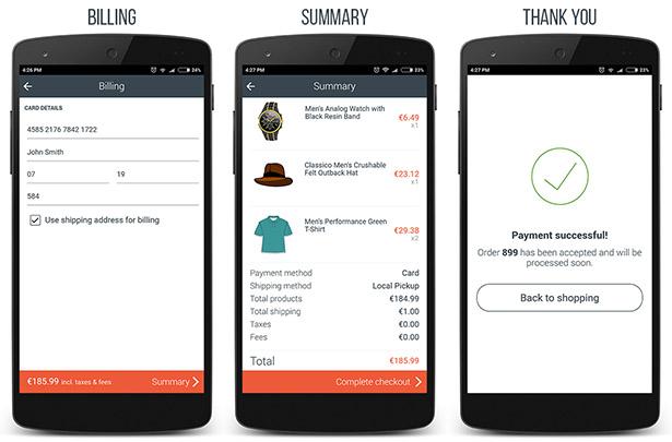 WooCommerce Ionic Mobile App & REST API - 13