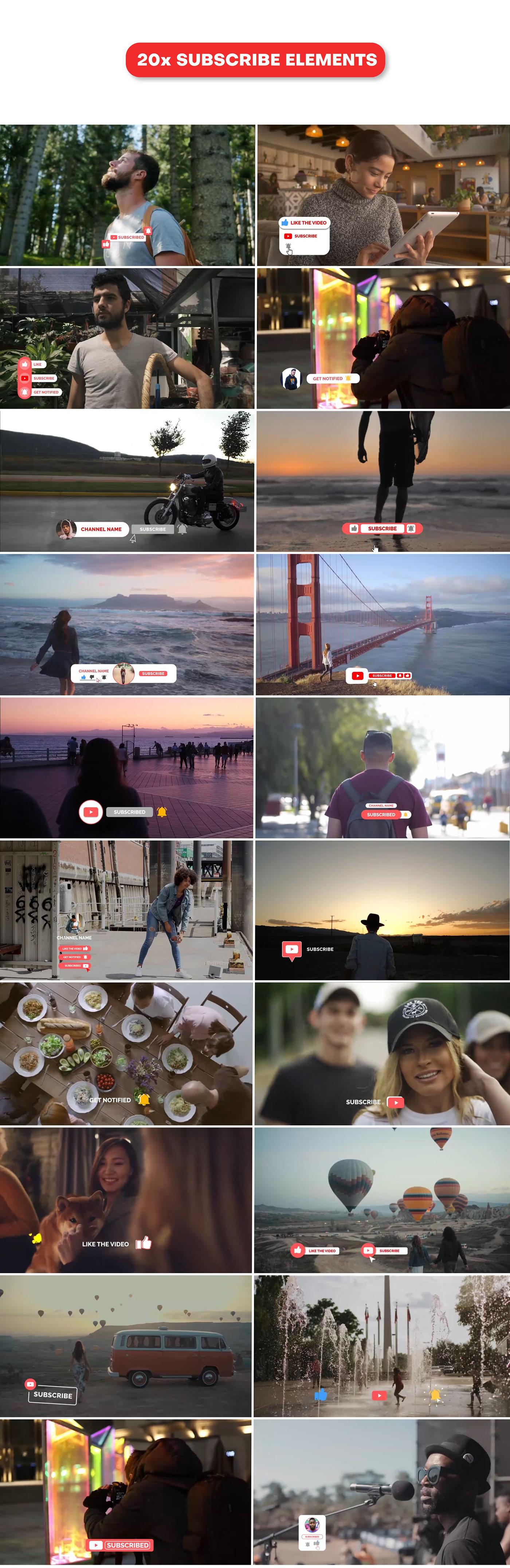 YouTube Promo Pack - 8