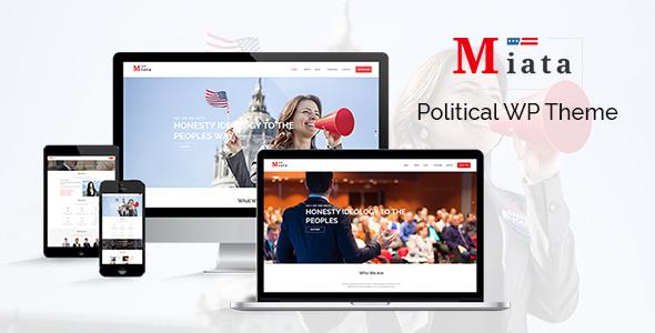 Miata – Political WordPress Theme